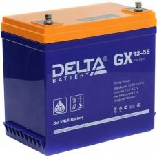АКБ DELTA GX 12-55