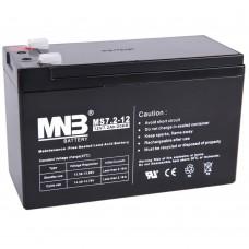 АКБ MNB MS7.2-12 F2