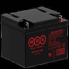 АКБ WBR EVX40-12G