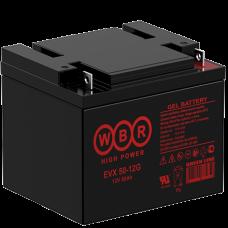 АКБ WBR EVX50-12G